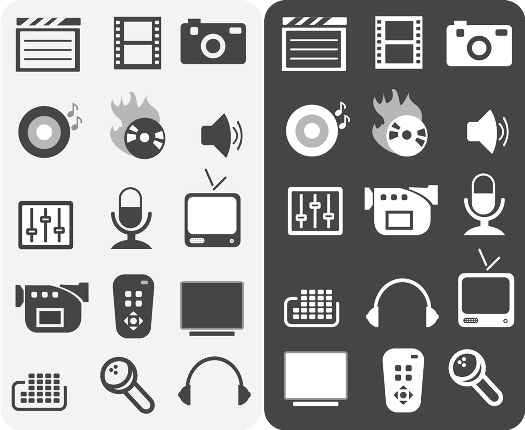 Free Icons Round-Up - Media Icons