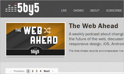 5by5 | The Web Ahead