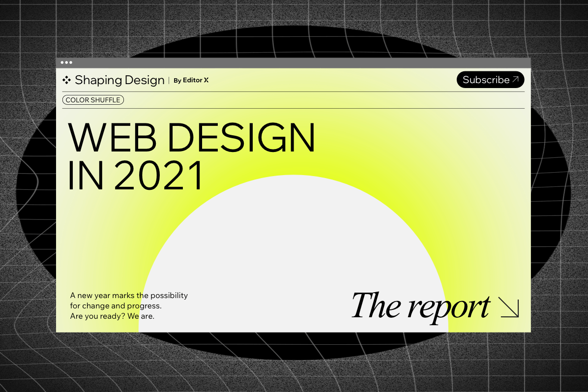 Web Design Trends 2021: The Report