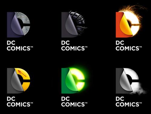DC Comics' new versatile logo. (Image: Landor).
