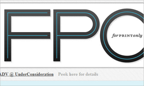 FPO: For Print Only