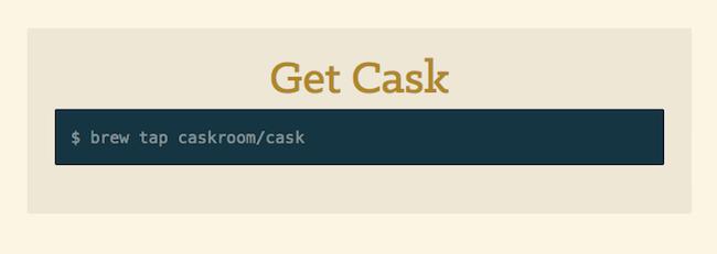 Caskroom