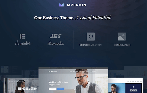 Imperion: All-in-one Corporate WordPress Theme