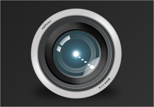 Create a Camera Lens Icon in Photoshop (Screencast)