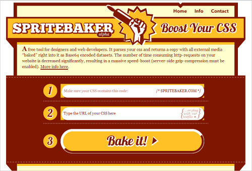 Spritebaker - Ridiculous easy Base64 encoding for Designers