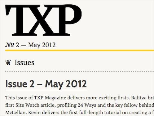 TXP Magazine