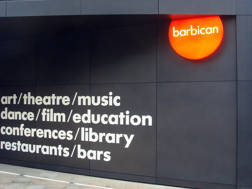 The Barbican Centre!