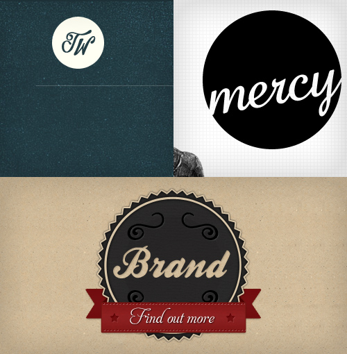Collage of circular script logos