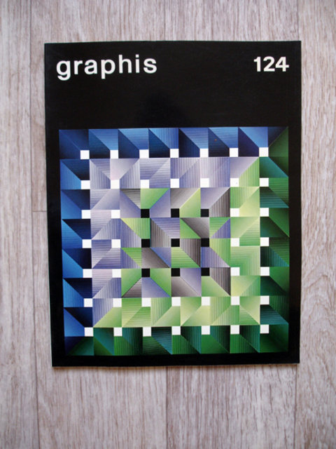 Swiss Graphic Design - Graphis 124 –– 1966