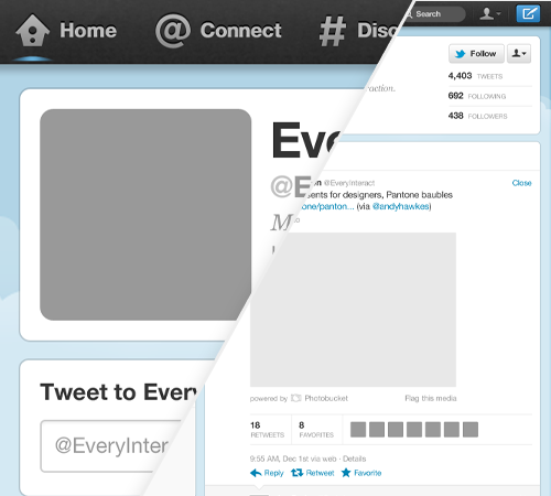 Twitter GUI Preview