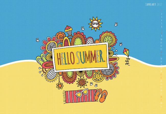 Hello Summer in Australia!