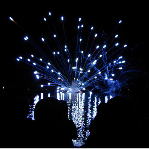 Fireworks Photos - Blue Explosion on Flickr - Photo Sharing!