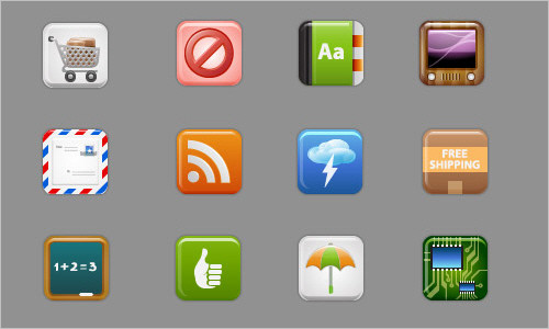 iCandies Icon Set: 60 Free Icons For Your User Interfaces and Apps - Smashing Magazine