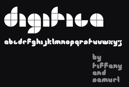 Typography Free Fonts - Digitica