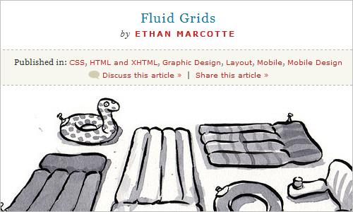 Fluid Grids - Ethan Marcotte