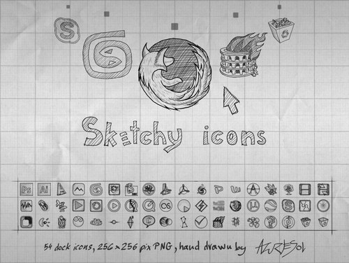Free High Quality Icon Sets - Sketchy Icons