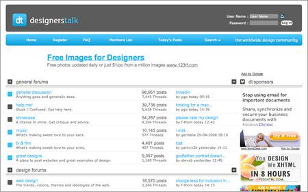 Designers Talk Forum