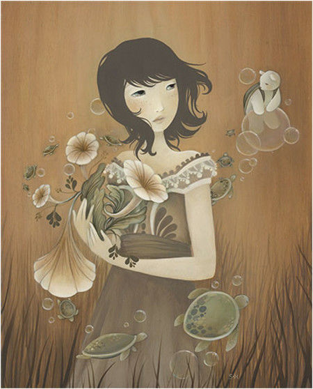 Showcase of Feminine Illustrations - Amy Sol