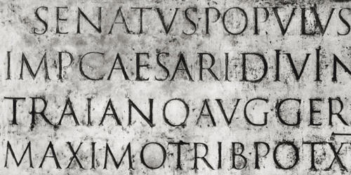 Trajan Inscription