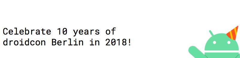 DroidCon Berlin 2018