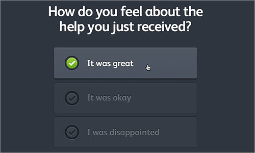 How a simple redesign increased customer feedback by 65%