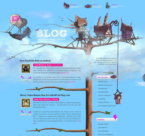 50 beautiful and creative blog designs  u2014 smashing magazine
