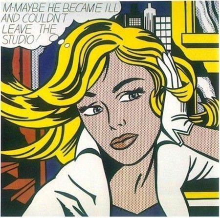 Pop Art Showcase - Roy Lichtenstein
