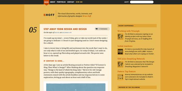 Brian Hoff Blog