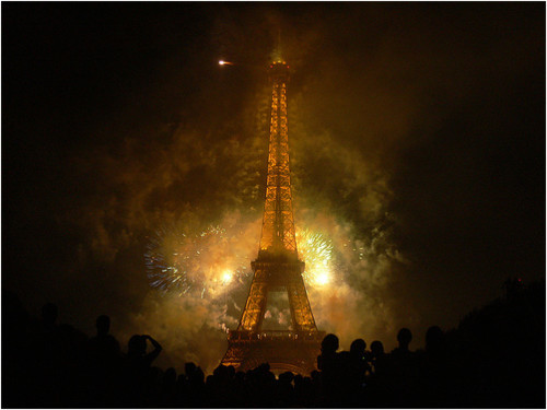 Fireworks Photos - Eiffel Tower