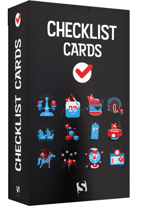 Interface Design Checklists Cards