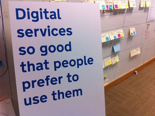 Digital services so good that people prefer to use them.
