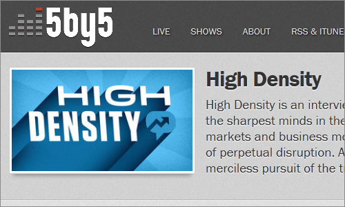 5by5 | High Density