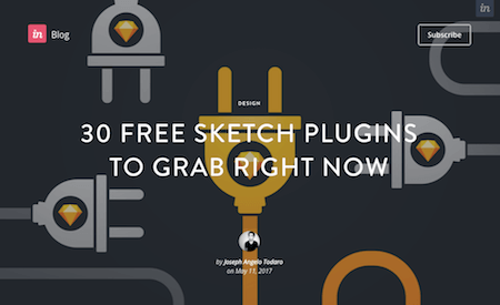 30 Free Sketch Plugins