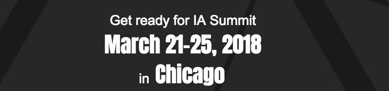 iA Summit 2018