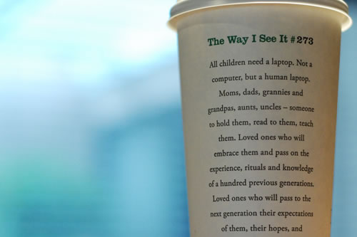 Starbucks Message