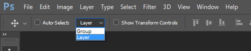 Layer Auto-Select