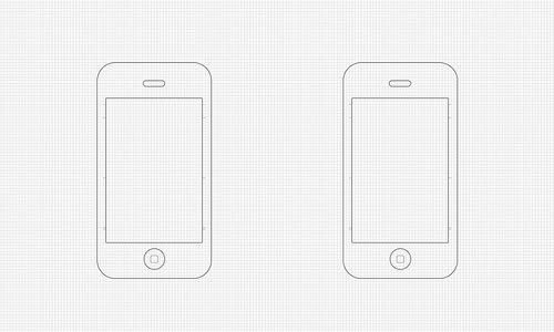 50 free ui and web design wireframing kits resources and source wireframe resources iphone wireframe templates pronofoot35fo Choice Image