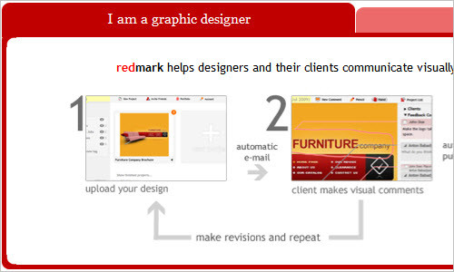 redmark - the easiest way to mark up a design and track revisions