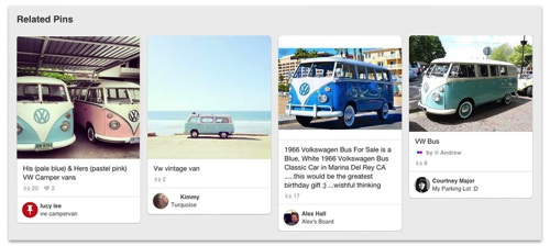 Related pins shown on Pinterest.