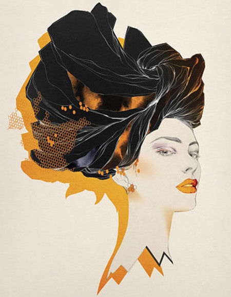 Showcase of Feminine Illustrations - Cecilia Carlstedt