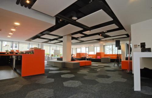 Mozilla's workspace in London