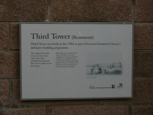 Wayfinding and Typographic Signs - jersey-historical-plaque