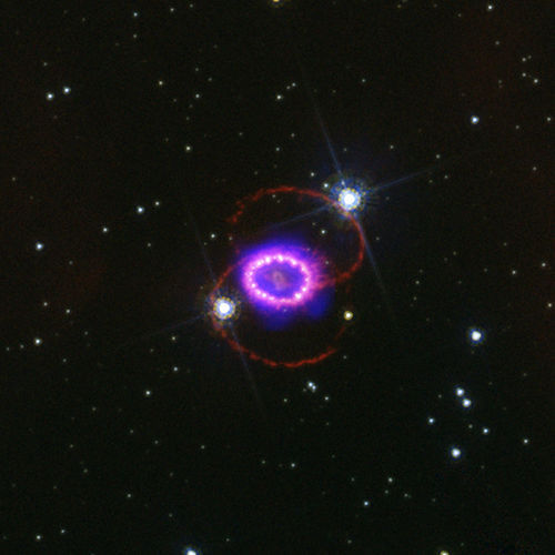 Space Photography - Supernova Explosion 1987A (Redux: NASA, Chandra, 2/24/09, Original Release 2/22/07)