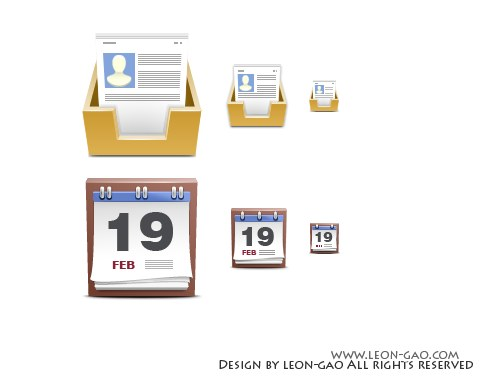 Free High Quality Icon Sets - Usercenter Calendar