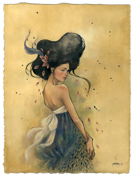 Showcase of Feminine Illustrations - stella im hultberg