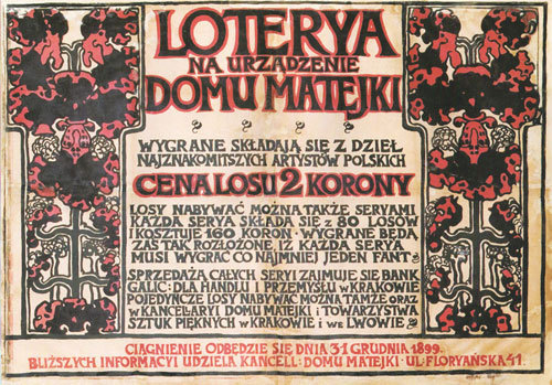 polish posters - Loteria