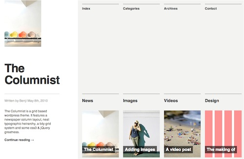 The Columnist Free WP Theme