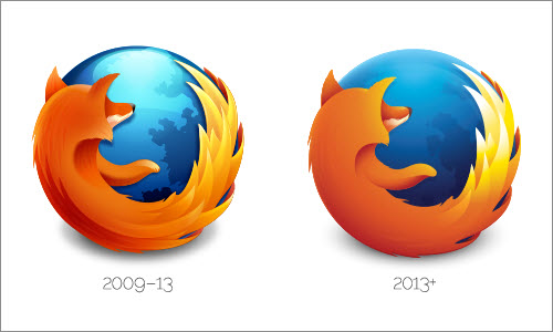 Firefox: (Re)building a simplified logo