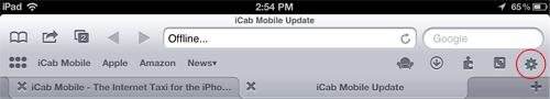 iCab Settings Icon