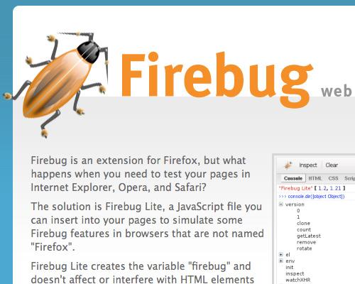 Firebug Lite